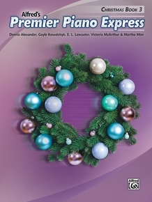 Premier Piano Express: Christmas, Book 3