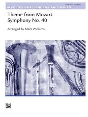 Theme from Mozart Symphony No. 40