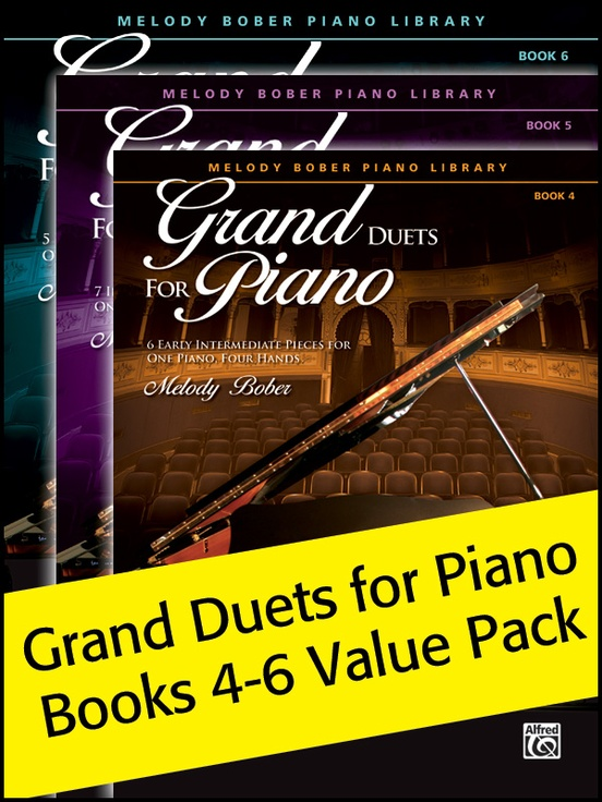 Grand Duets for Piano 4-6 (Value Pack)