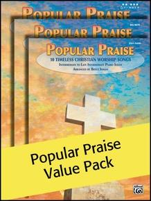 Popular Praise 5 Finger/Big Note/Easy Piano (Value Pack)