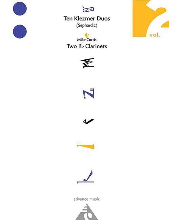 Ten Klezmer Duos, Vol. 2 (Sephardic)
