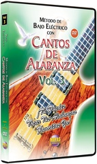 Método con Cantos de Alabanza: Bajo Eléctrico Vol. 3
