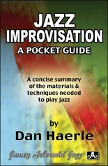 Jazz Improvisation: A Pocket Guide