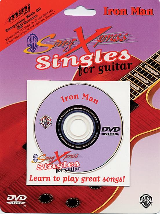 SongXpress® Singles for Guitar: Iron Man