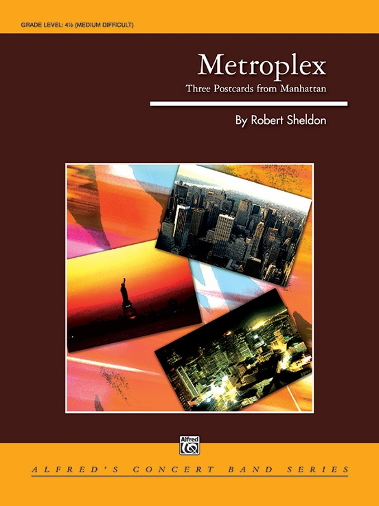 Metroplex Three Postcards From Manhattan Concert Band Conductor