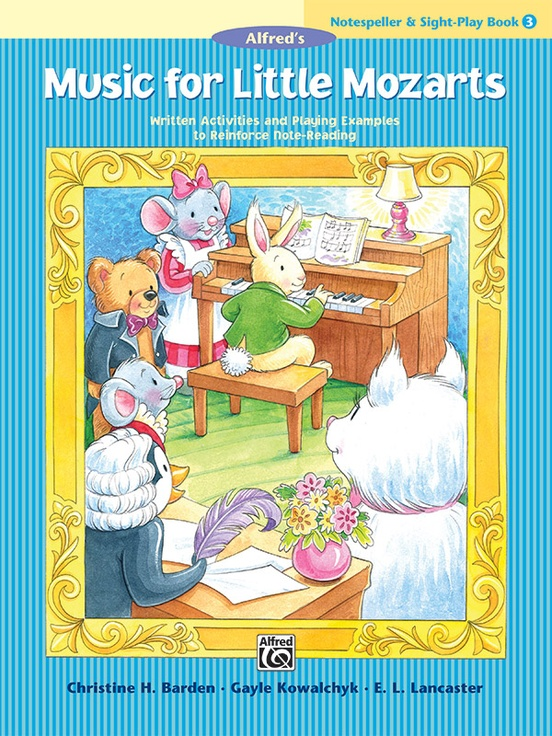 Music for Little Mozarts: Notespeller & Sight-Play Book 3