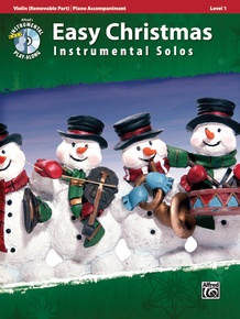 Easy Christmas Instrumental Solos, Level 1 for Strings