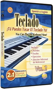 2 in 1 Bilingual: Teclado Vol. 2