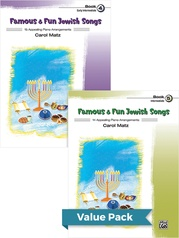 Famous & Fun Jewish Songs 4-5 (Value Pack)