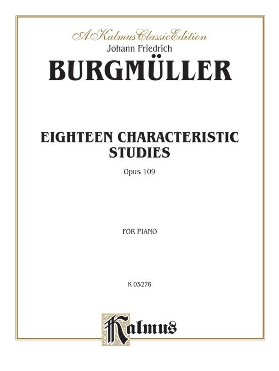 Eighteen Characteristic Studies, Opus 109