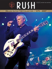Rush: Deluxe Guitar TAB Collection 1975 - 2007
