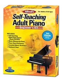 Alfred's Self-Teaching Adult Piano: Beginner's Kit