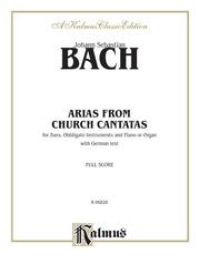 Arias from Church Cantatas