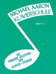 Michael Aaron Piano Course: German Edition (Klavierschule), Book 3