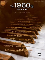 Greatest Hits: The 1960s for Piano