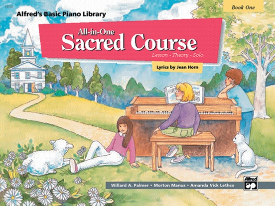 Alfred's Basic All-in-One Sacred Course, Book 1