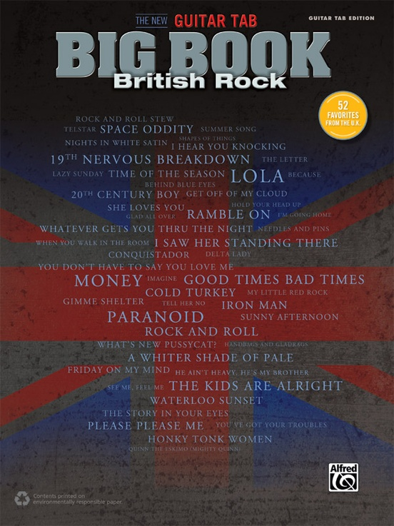 The New Guitar TAB Big Book: British Rock