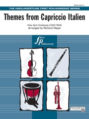 Capriccio Italien, Themes from