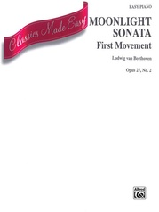Moonlight Sonata, Opus 27, No. 2 (First Movement)