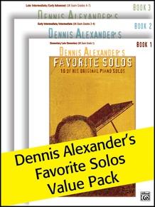 Dennis Alexander's Favorite Solos 1-3 (Value Pack)