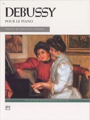 Debussy, Pour le piano
