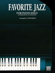 Favorite Jazz for Piano Solo