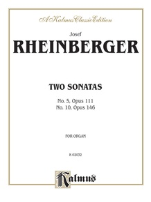 Two Sonatas, No. 5, Opus 111 and No. 10, Opus 146