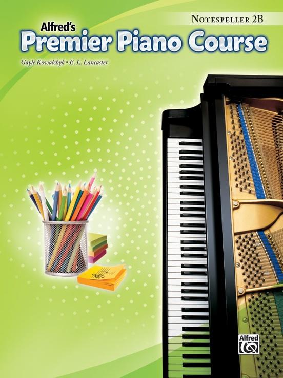 Premier Piano Course, Notespeller 2B