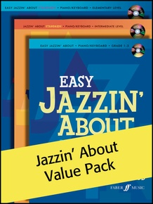 Jazzin' About (Value Pack) (Faber Music)