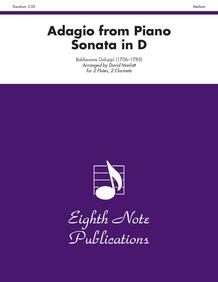 Adagio (from <i>Piano Sonata in D</i>)