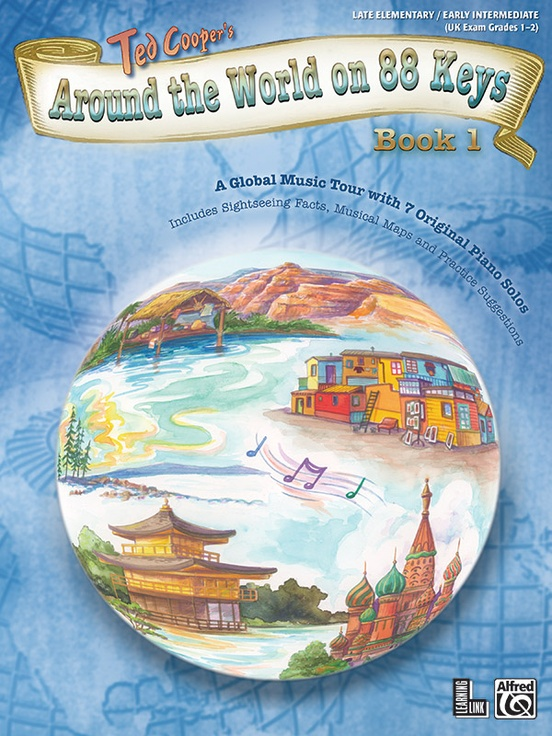 Around the World on 88 Keys, Book 1