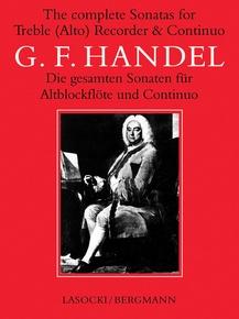 The Complete Sonatas for Treble (Alto) Recorder & Continuo