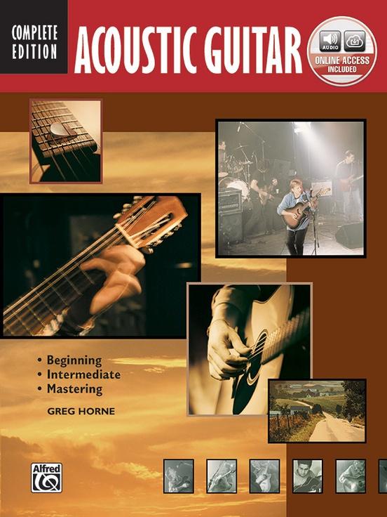 Acoustic Guitar Book 2 Intermediate TAB Music Book//CD Learn How to Play Method