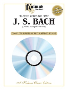 Selected Works for Piano: J. S. Bach