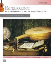 Renaissance: Selected Favorites Transcribed for Guitar