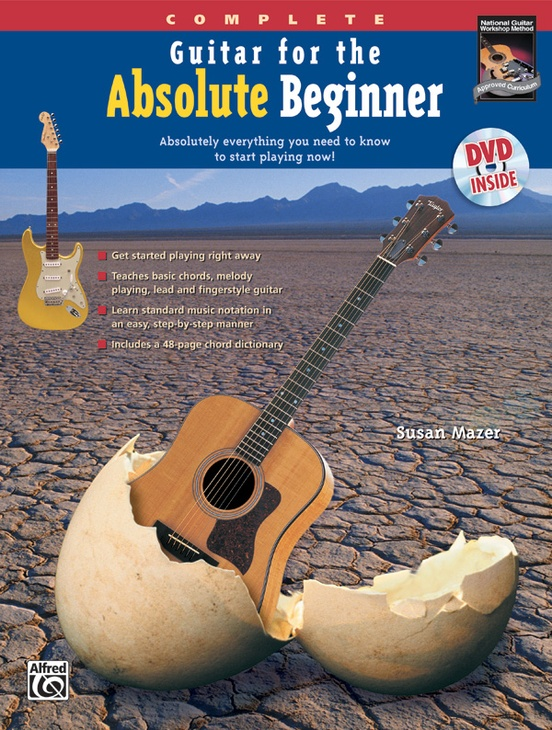 Guitar For The Absolute Beginner Complete Guitar Book Dvd Sleeve