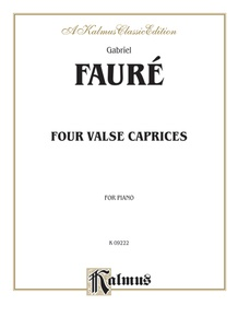 Four Valse Caprices, Opus 30, 38, 59, 62