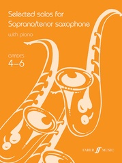 Selected Solos for Soprano/Tenor Saxophone, Grade 4-6