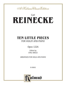 Ten Little Pieces (Petits Morceaux), Opus 122A