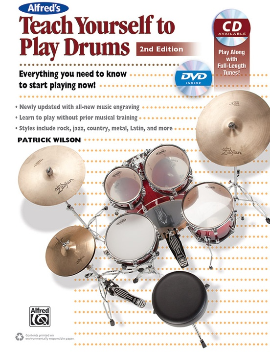 Alfred's Teach Yourself to Play Drums (2nd Edition)
