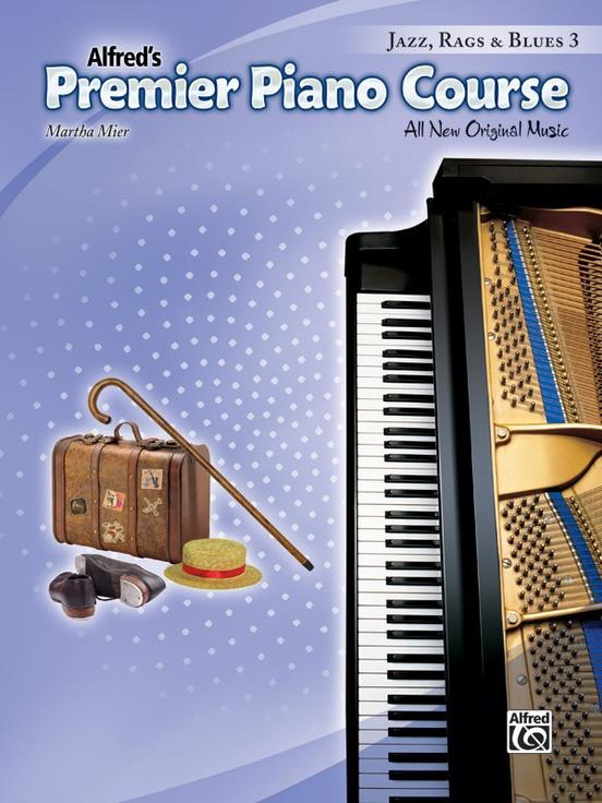 Premier Piano Course, Jazz, Rags & Blues 3