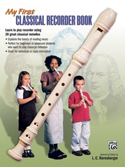 My First Classical Recorder Book