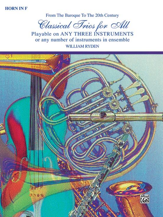Movie Trios for All: Tenor Saxophone (Instrumental Ensembles for All)