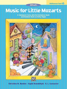 Music for Little Mozarts: Halloween Fun! Book 3