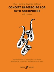Concert Repertoire for Alto Saxophone