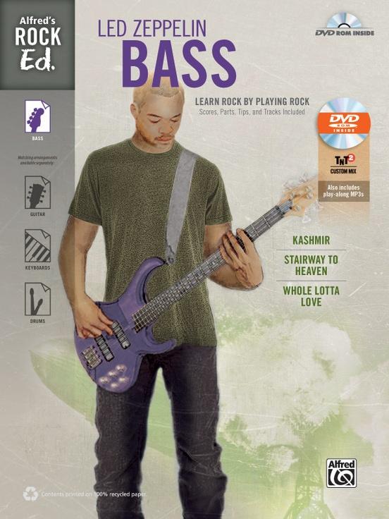 Alfred's Rock Ed.: Led Zeppelin Bass