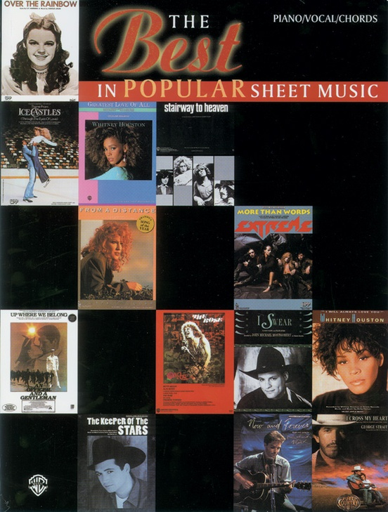 The Best in Popular Sheet Music