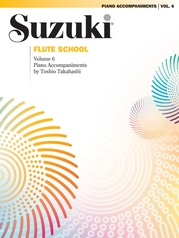 Suzuki Flute School Piano Acc., Volume 6 (Revised)