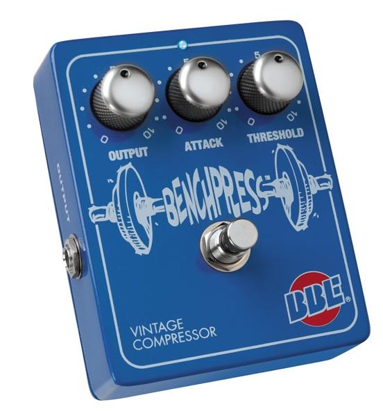 BBE Bench Press Vintage Compressor Guitar Effects Pedal