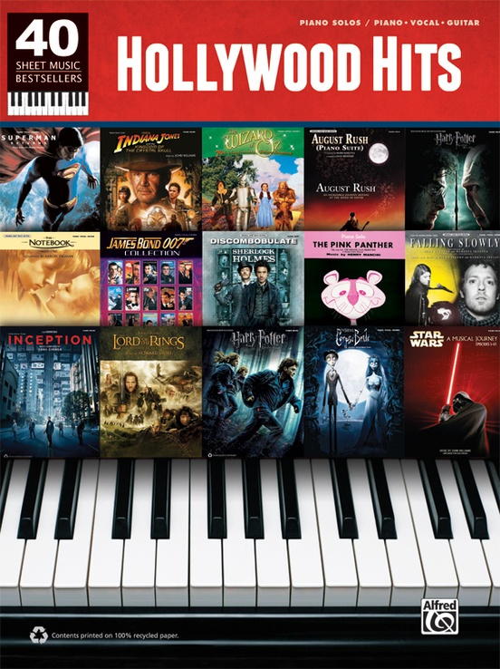 40 Sheet Music Bestsellers: Hollywood Hits